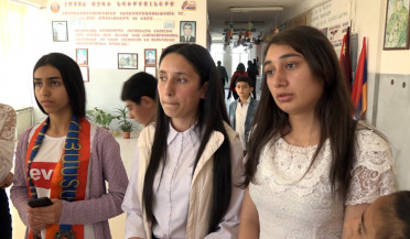 Baghramyan school demands a 'fair director'