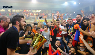 Armenian basketball club becomes Lebanon champion