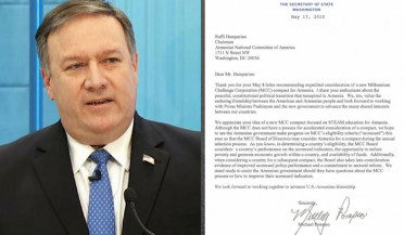 U.S. State Secretary answers ANCA's appeal