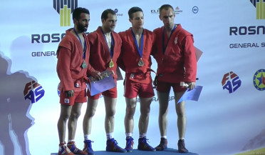 Six medals from European Sambo Championship