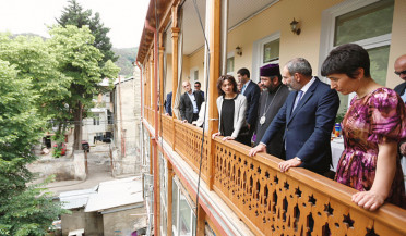 PM leaves Tblisi for Javakhk