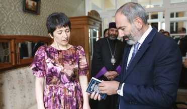 Nikol Pashinyan visits Hovhannes Tumanyan House scientific-cultural center