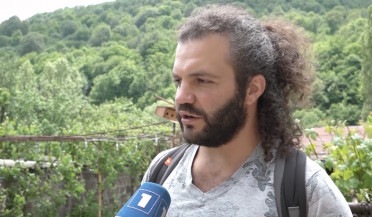 Ecological activists start working in Dilijan park