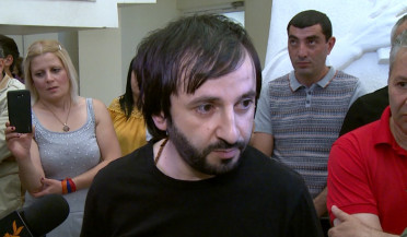 Areg Kyureghyan freed in courtroom