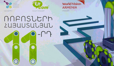 Armenian robotic competition in September