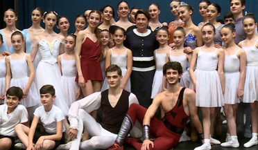 First Lady visits Dance College