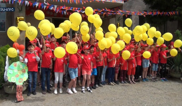 Tavush frontier camp receives sixty children