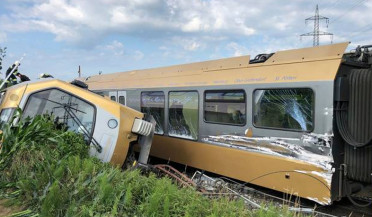 International agenda: train derails in Austria