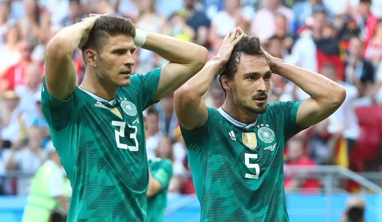 Germany exits from World Cup