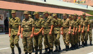 Summer military call starts in Armenia
