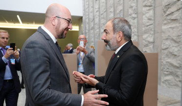 Nikol Pashinyan meets leaders of several countries