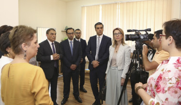 High officials visit N 92 inclusive kindergarten
