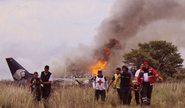 No deaths in Mexico plane crash