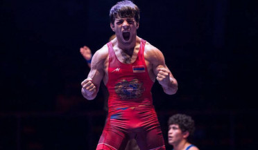 Armenian wrestlers win ten medals