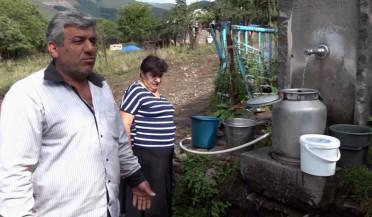 Water issue causes arguments in village Mghart