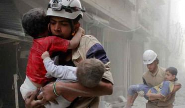 White Helmets carries out Syria Civil Defence