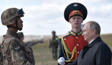 International news: Large-scale war games in Russia