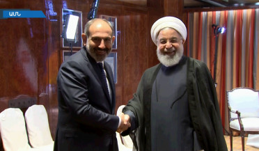Iranian President invites PM Pashinyan to Tehran