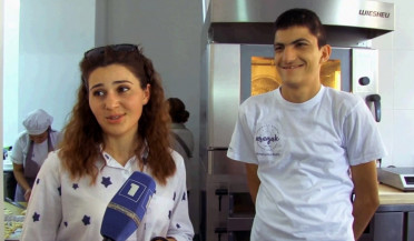 Inclusive bakery opens in Armenia