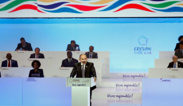 Nikol Pashinyan's speech gives start to Francophonie Summit