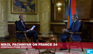 PM Pashinyan gives interview to France 24