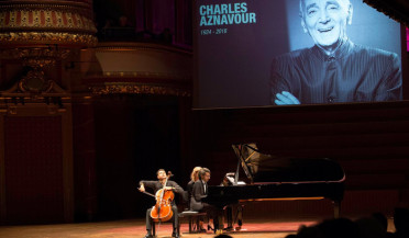 Concert dedicated to Aznavour in Geneva