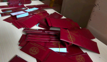56 RPA membership cards found in Linguistic University safe