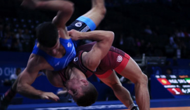 Armenian freestyle wrestlers leave competition