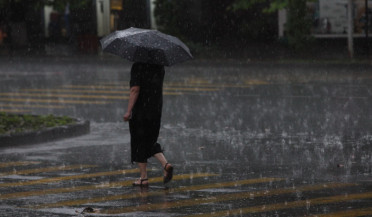 Rainy weather in Armenia will persist