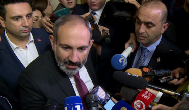 Pashinyan answers journalists' questions