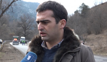 Dilijan-Ijevan highway under reconstruction