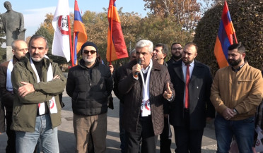 Daredevils of Sasun addresses Etchmiadzin