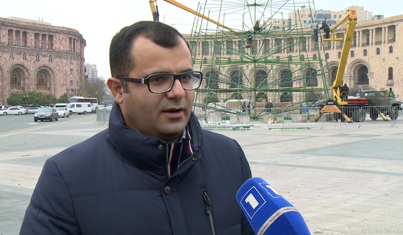 Yerevan new Christmas tree will serve longer than one year