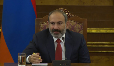 Nikol Pashinyan answers questions from international journalists