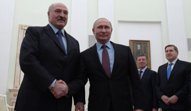 Putin and Lukashenko meet in Moscow