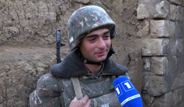 Happy New Year from Artsakh soldiers