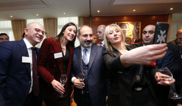 Nikol Pashinyan attends Davos Economic Forum
