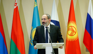 PM visits headquarters of Eurasian Economic Commission