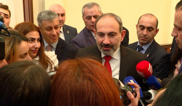 Democracy is our credo, says Pashinyan