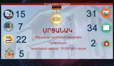 Unprecedented number of applications for Presidential Award