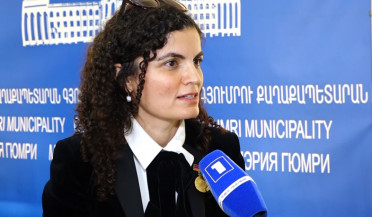 Gyumri City Hall awards golden medal to philanthropist Teresa Mkhitaryan