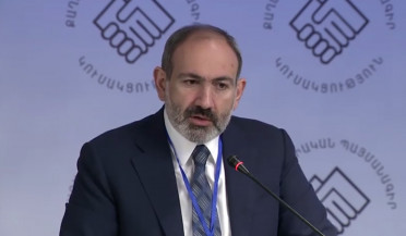 Nikol Pashinyan delivers speech at Civil Contract Assembly
