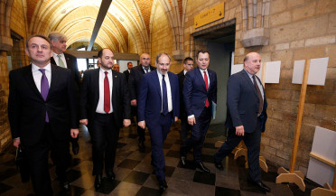 Armenian PM visits Katholieke Universiteit Leuven