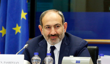 Nikol Pashinyan at European Parliament