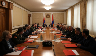 Armenia and Artsakh hold joint Security Council Session