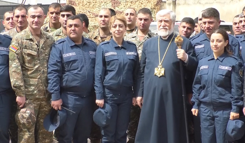 Aram I meets Armenian specialists in Syria