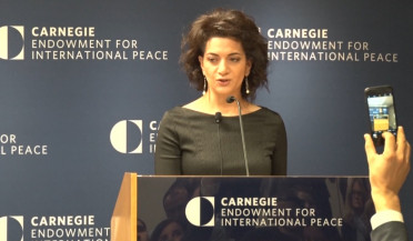 Anna Hakobyan presents humanitarian initiative in Washington