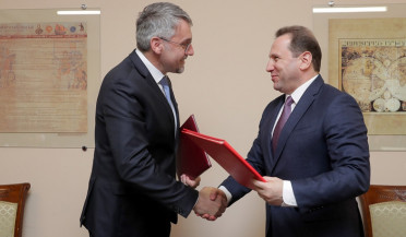 Armenia and Czech Republic sign military agreement