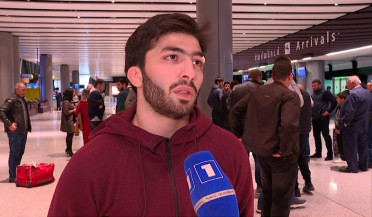 Armenian wrestlers return from European Championship