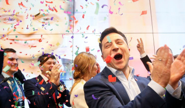 Zelensky wins Ukraine election